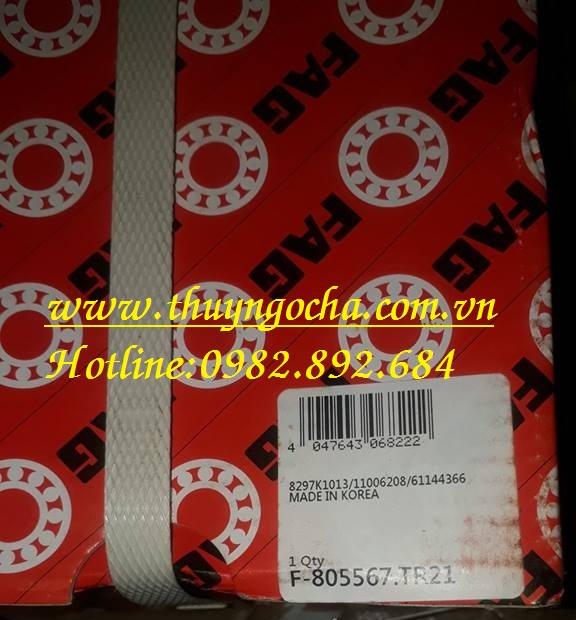 VÒNG BI BẠC ĐẠN F805567.TR21 FAG