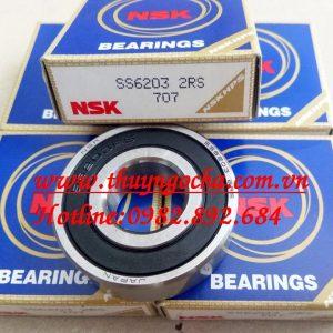 VÒNG BI INOX SS6203 2RS NSK